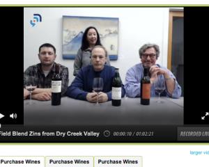Live, Virtual Wine Tasting