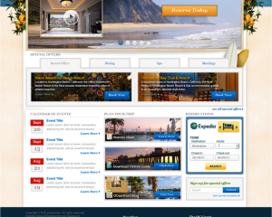 Destination Website